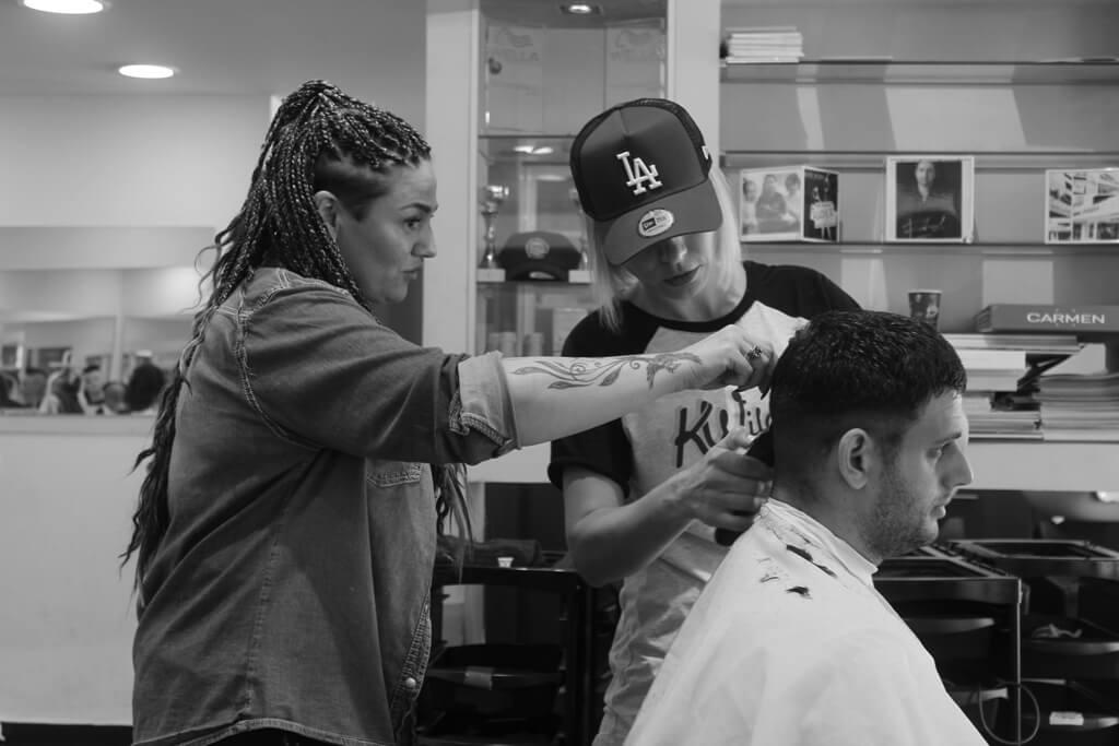 קורס תספורות גברים מקצועי - קורס Barber